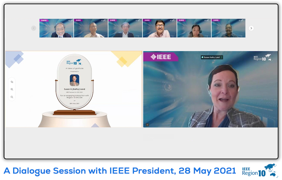 Dialogue with IEEE President Kathy Land