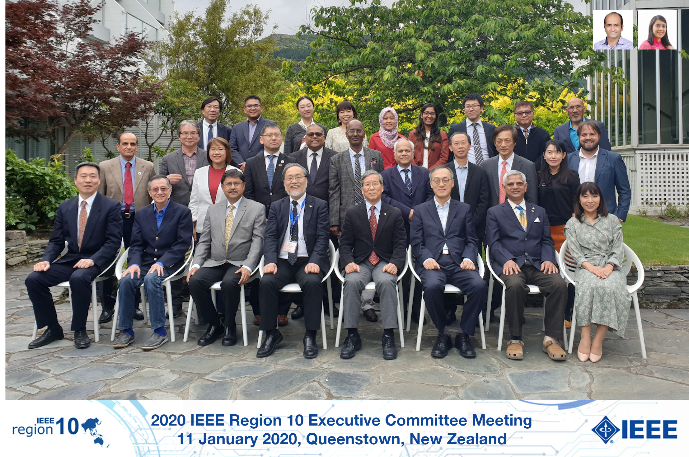 2020 IEEE Region 10 Executive Committee members
