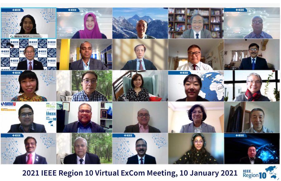 2021 IEEE Region 10 Executive Committee Meeting