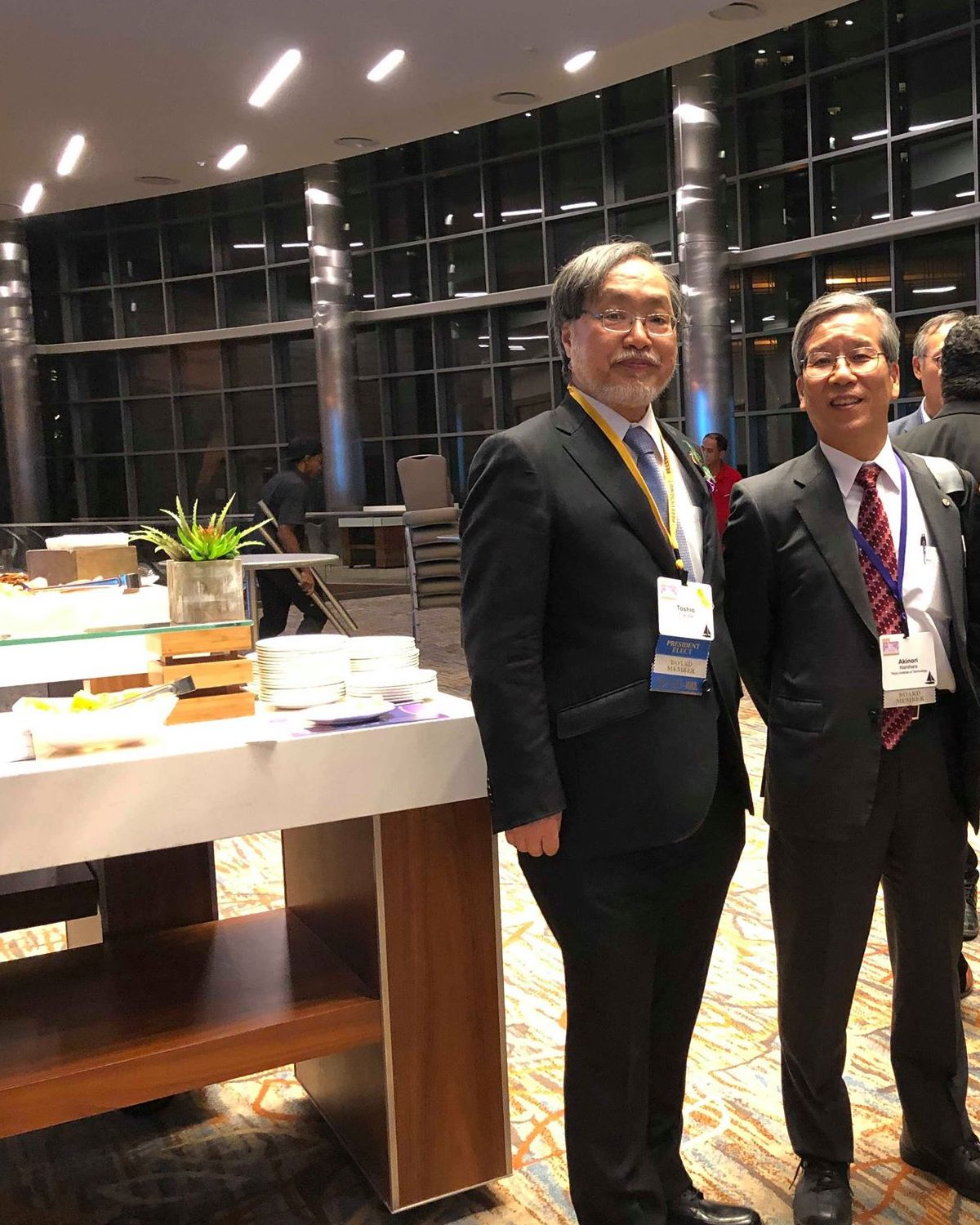 with Prof. Toshio Fukuda, IEEE President-Elect at IEEE Vision, Innovation and Challenges Summit