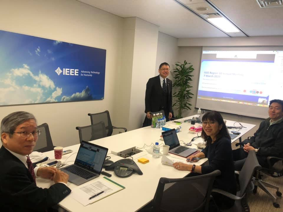 IEEE Region 10 Meeting 2020 at IEEE Japan Office