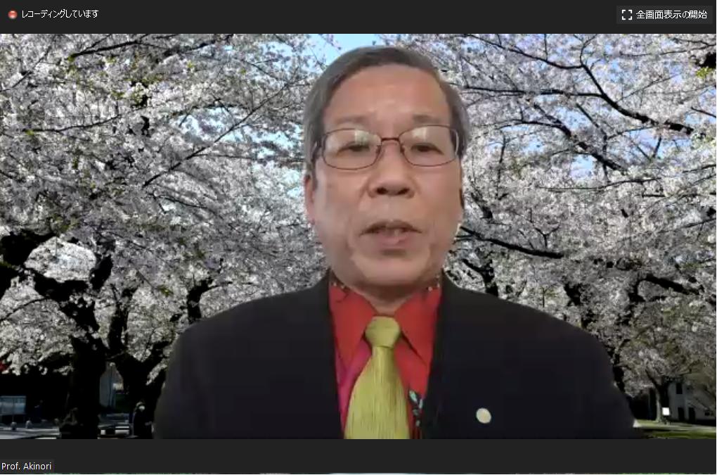 Opening Address by Prof. Nishihara