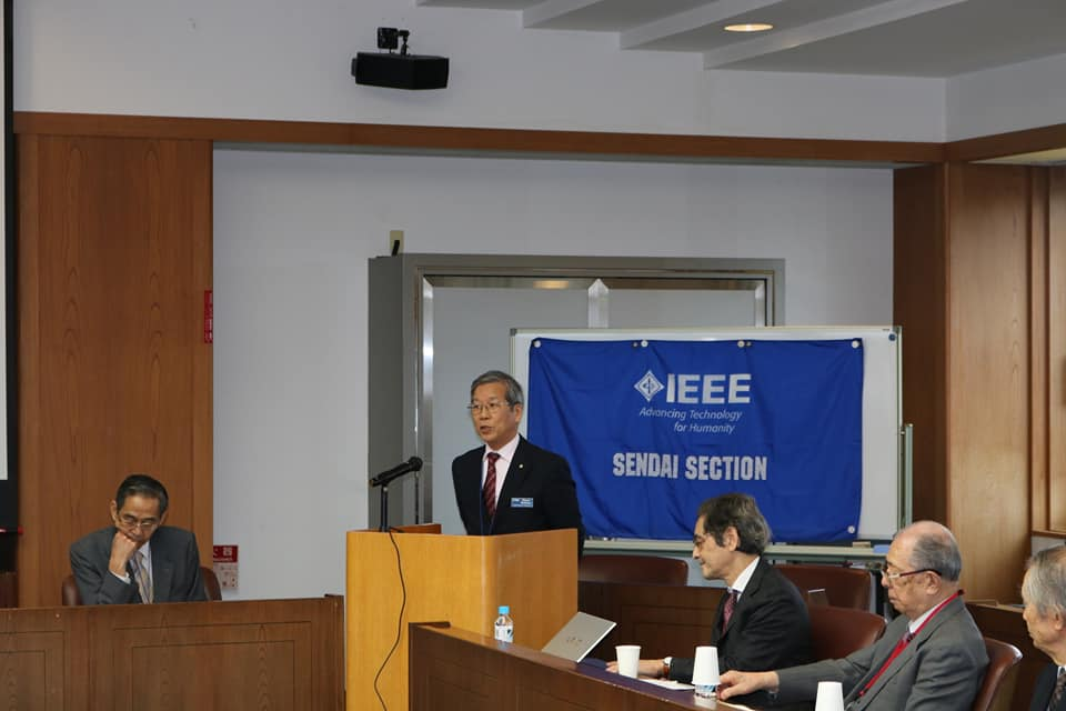 Congratulatory Address at Sendai LMSG Inauguration Ceremony